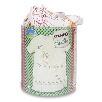 Obrázek produktu Razítka Stampo Textile - Kočky