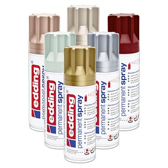 Obrázek produktu Akrylový sprej pro kreativní použití Edding 5200 - 200 ml, výběr barev