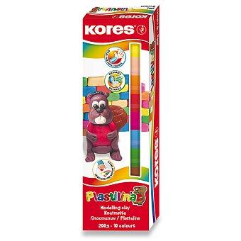 Obrázek produktu Modelína Kores - 10 barev, v krabičce