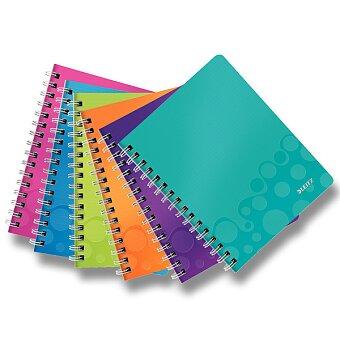 Obrázek produktu Kroužkový blok Leitz Wow - A5, linkovaný, 80 listů, výběr barev