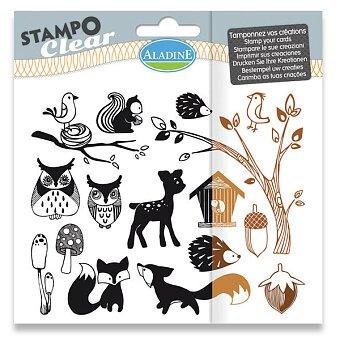 Obrázek produktu Razítka gelová Stampo Clear - Lesní zvířátka