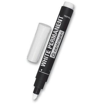 Obrázek produktu Permanentní popisovač Centropen 8586 - bílý