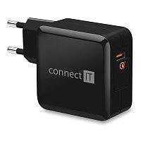 Cestovní USB nabíječka Connect IT Quick Charge 3.0