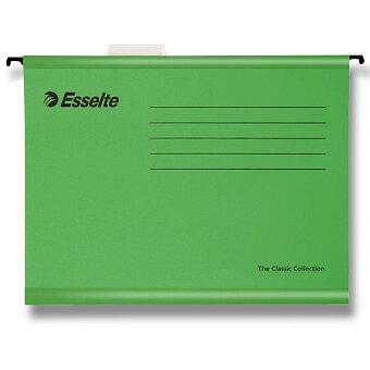 Obrázek produktu Závěsné zakládací desky Esselte Pendaflex - A4, 25 ks zelené