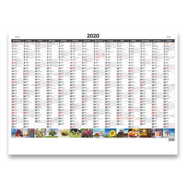 Planovaci Mapa 2020 Nastenny Pracovni Kalendar Obrazkova Activa