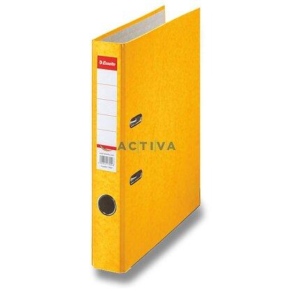 Obrázek produktu Esselte Rainbow - pákový pořadač - A4, 50 mm, žlutý