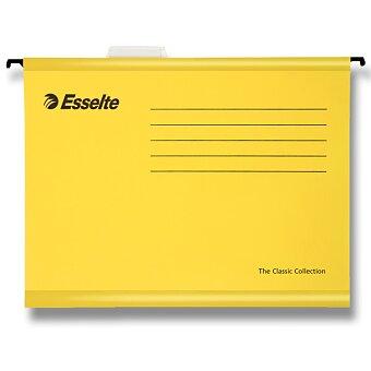 Obrázek produktu Závěsné zakládací desky Esselte Pendaflex - A4, 25 ks žluté