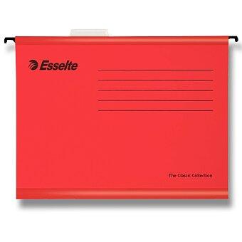 Obrázek produktu Závěsné zakládací desky Esselte Pendaflex - A4, 25 ks červené