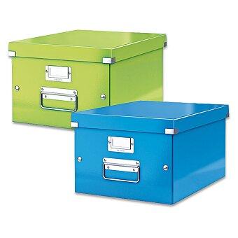 Obrázek produktu Archivační krabice Leitz Click & Store - do A4, 281 x 200 x 369 mm, výběr barev