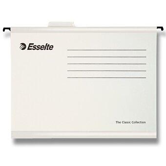 Obrázek produktu Závěsné zakládací desky Esselte Pendaflex - A4, 25 ks bílé