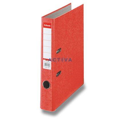 Obrázek produktu Esselte Rainbow - pákový pořadač - A4, 50 mm, červený