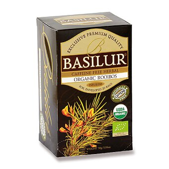 Obrázek produktu Bylinný čaj Basilur BIO Organic Rooibos - 20 sáčků