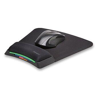 Obrázek produktu Gelová podložka pod myš Kensington SmartFit - nastavitelná výška, černá