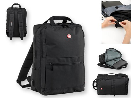 Obrázek produktu JACKSON - PES batoh na notebook, 600D, SWISSBAGS