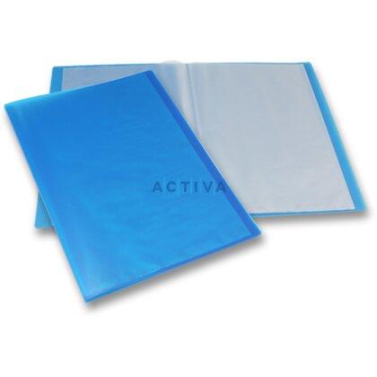 Obrázek produktu Foldermate Display Book - katalogová kniha - 20 kapes, modrá