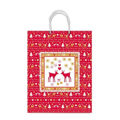 Obrázek produktu Sadoch Nordico - vánoční papírová taška - 300 x 120 x 400 mm, vel. M