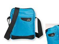 ALESSA - nylonová taška přes rameno, Světle modrá, výběr barev