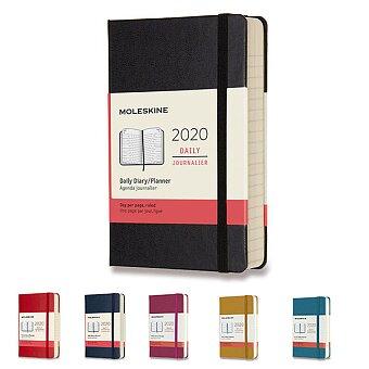 Obrázek produktu Diář Moleskine 2020 - tvrdé desky - S, denní, výběr barev