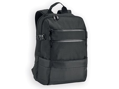 Obrázek produktu ZIPPERS - polyesterový batoh na notebook, 840D