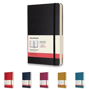 Obrázek produktu Diář Moleskine 2020 - tvrdé desky - L, denní, výběr barev