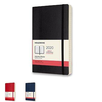 Obrázek produktu Diář Moleskine 2020 - měkké desky - L, denní, výběr barev