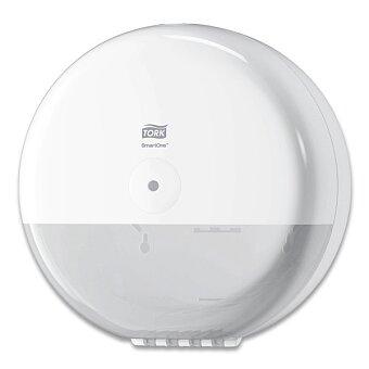 Obrázek produktu Zásobník na toaletní papír Tork Elevation SmartOne T8 - 279 × 279 × 167 mm, bílý