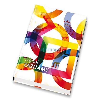 Obrázek produktu Papírny Brno - diář pro denní záznamy - A5, denní záznamy, mix barev