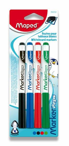 Popisovač Maped Marker'Peps sada 4 barev