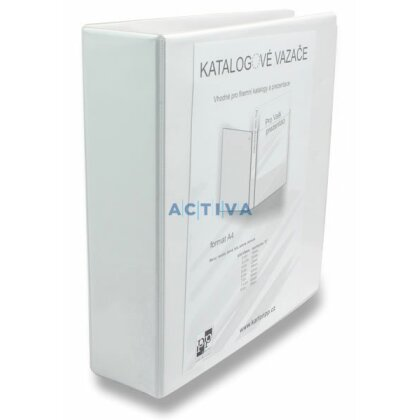 Obrázek produktu PP Personal - 4kroužkový pořadač - A4, 85 mm, bílý