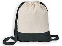 MILA - bavlněný stahovací batoh, 140 g/m2, výběr barev