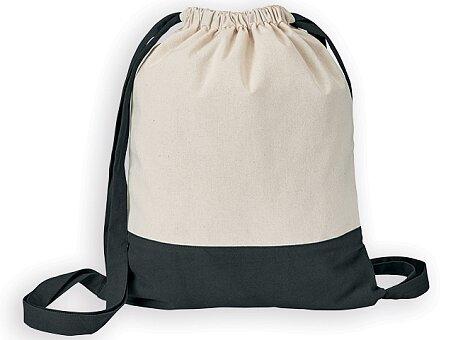 Obrázek produktu MILA - bavlněný stahovací batoh, 140 g/m2, výběr barev