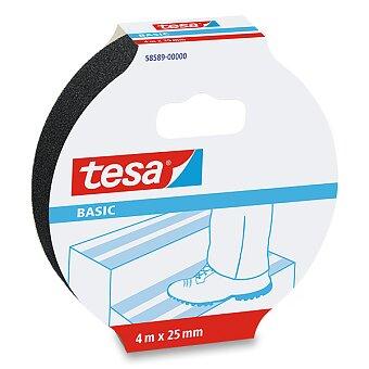 Obrázek produktu Protiskluzová páska Tesa Basic - šíře 25 mm, návin 4 m
