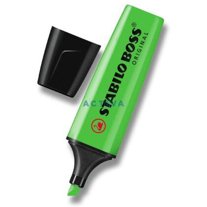 Obrázek produktu Stabilo Boss - zvýrazňovač - zelený