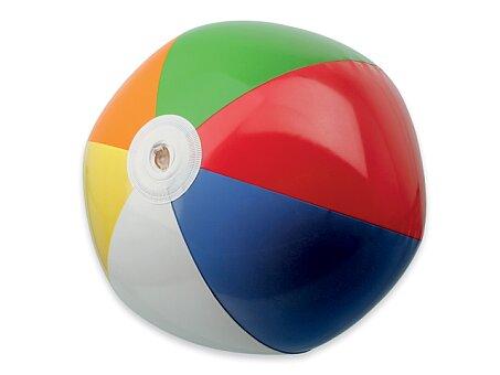 Obrázek produktu BEACH COLOUR - plastový nafukovací míč, 6 panelů