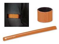 SEGURON - plastový reflexní pásek, samonavíjecí, výběr barev