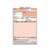 Faktura daňový doklad Optys 1072