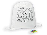 BARKIN - stah.batoh pro děti z net.textilie se 4 fixami