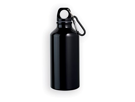Obrázek produktu BARAC II - hliníková outdoorová láhev, 400 ml, výběr barev - Červená