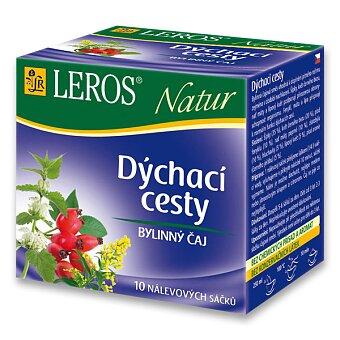 Obrázek produktu Bylinný čaj LEROS Natur Dýchací cesty - 10 sáčků