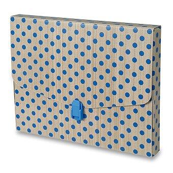Obrázek produktu Kufřík na dokumenty Emba Elegant - 326 x 255 x 35 mm, s puntíkem