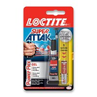 Vteřinové lepidlo Loctite Super Attak Power Gel