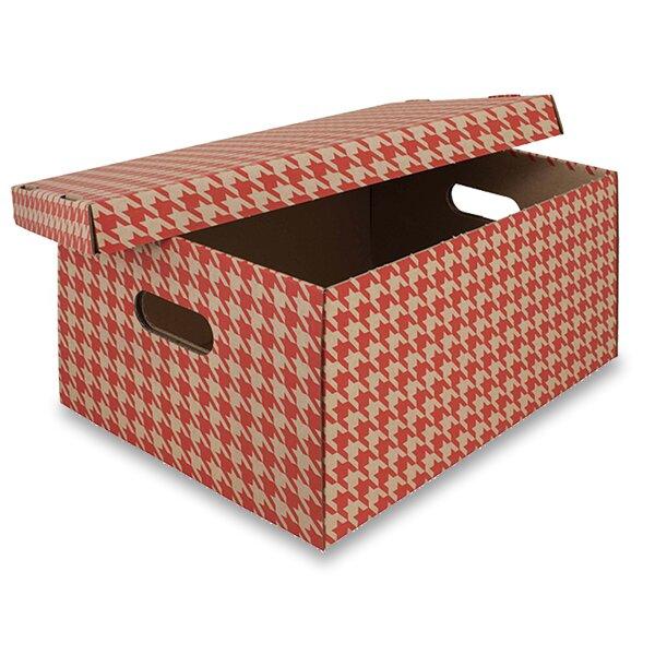 krabice červená