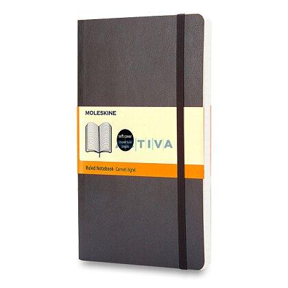 Obrázok produktu Moleskine - zápisník v mäkkých doskách - 13 x 21 cm, linajkový, čierny