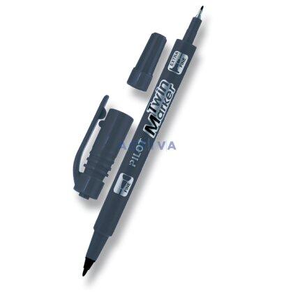 Obrázek produktu Pilot Twin Marker - permanentní popisovač - černý