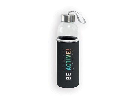Obrázek produktu ZAYNA - skleněná sportovní láhev, 520 ml, výběr barev