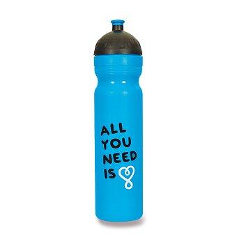 Obrázek produktu Zdravá lahev 1,0 l - All you need, modrá, edice UAX