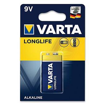 Obrázek produktu Alkalická baterie Varta Longlife 9 V - 1 ks