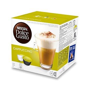 Obrázek produktu Kávové kapsle Nescafé Dolce Gusto Cappuccino - 8 x káva, 8 x mléko