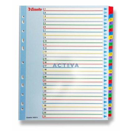Obrázek produktu Esselte Mylar - kartonový rozlišovač - 31 listů