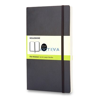 Product image Moleskine - Notebook in soft cover - 9 x 14 cm, blank, black